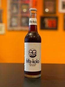 Picture showing a bottle of Fritz Kola